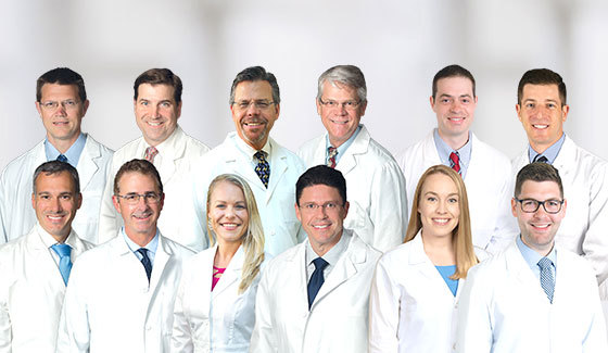 Top Orthopedic Physicians Group Photo